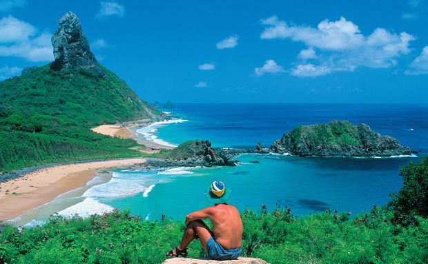 beaches of Fernando de Noronha
