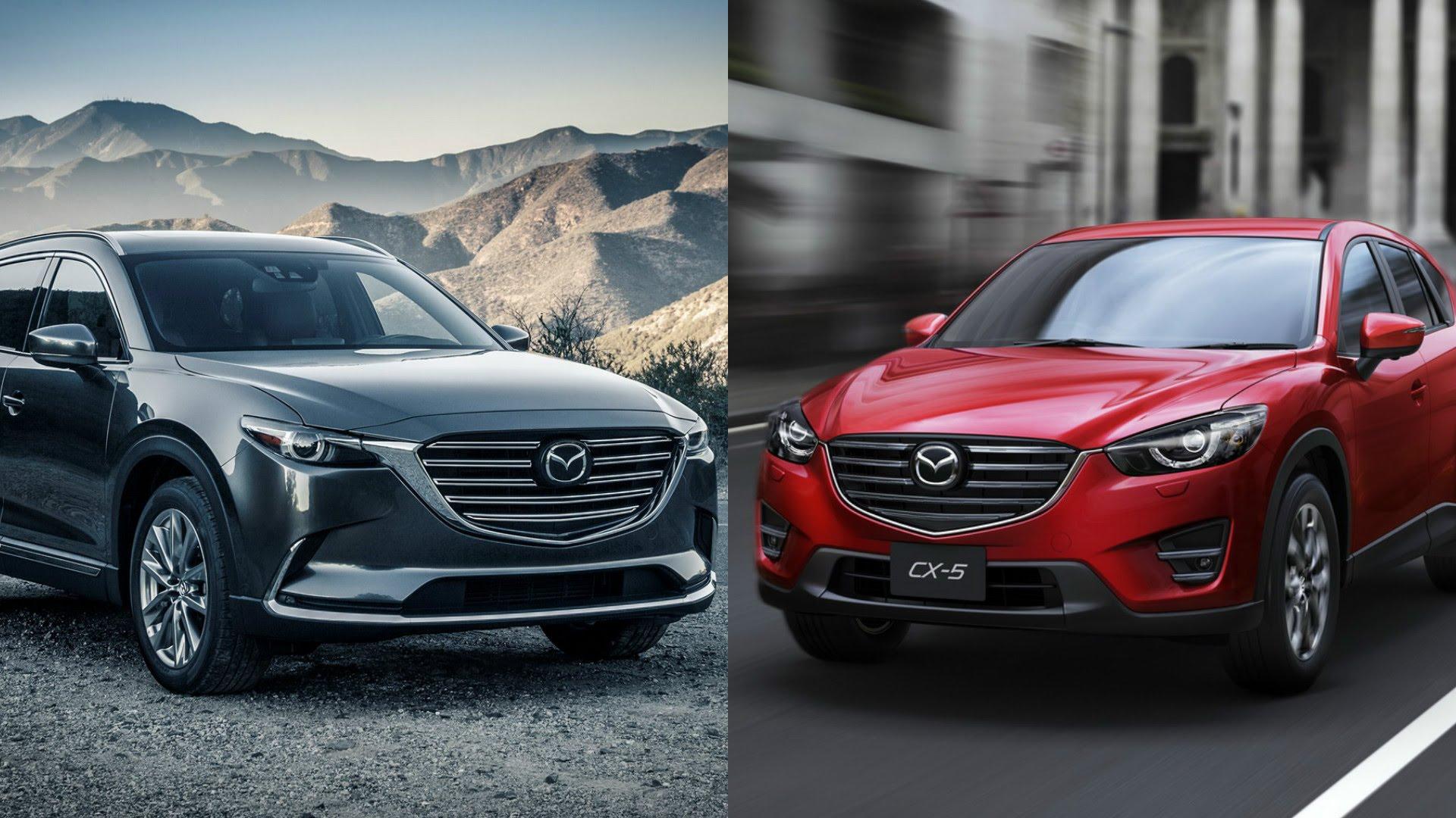 مقارنة بين مازدا CX-9 2017 و 2016