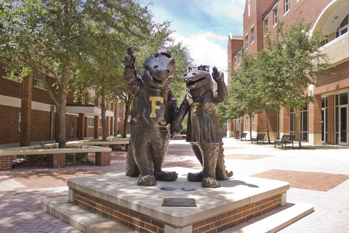 Photo of Albert and Alberta at the University of Florida