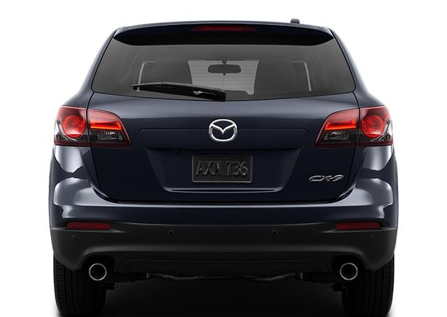 التصميم الخلفي لمازد سي اكس 9 2016