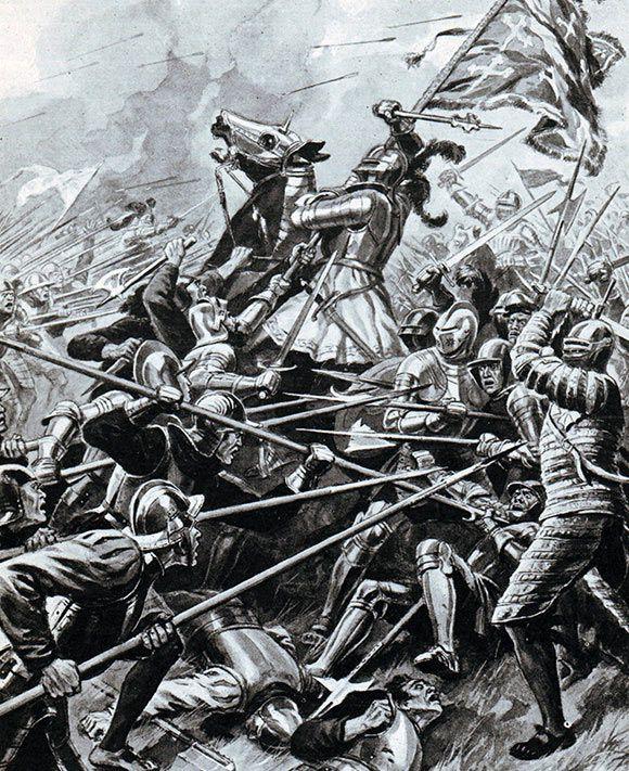 معركة فلودين وتسمى معركة برانكستون بين انجلترا و اسكتلندا | المرسال
