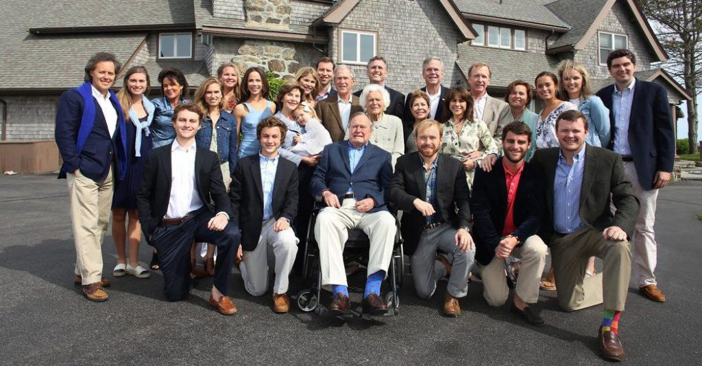 la famille Bush