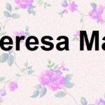 تيريزا ماي المرشحة لرئاسة وزراء بريطانيا
