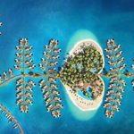 جزيرة سان بطرسبورغ جزيرة جديدة في دبي خاصة بشهر العسل