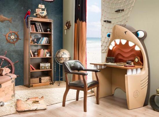 غرفة القرش لاولاد