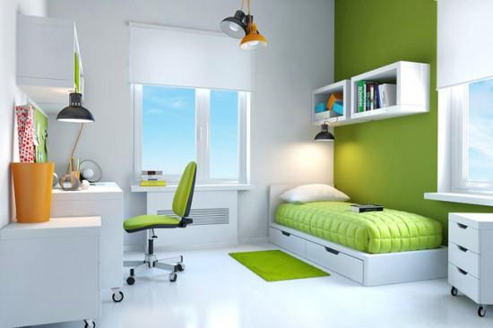 غرفة نوم بسيطة 2017