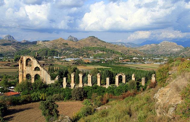 مدينة اسبندوس العريقة تركيا