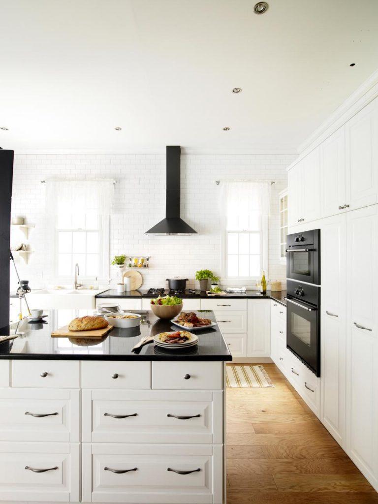 مطبخ امريكي تصميم 2017