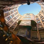 Casa Milà in Barcelona is another building designed by the modernist architect Antoni Gaudi. - 367050