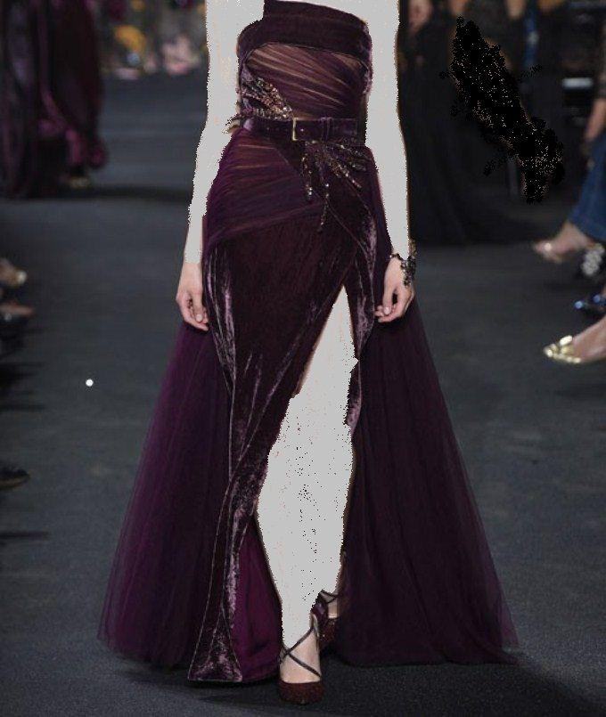 c5493b74b تألقي في فستان خطوبة باللون البنفسجي في 2017   المرسال