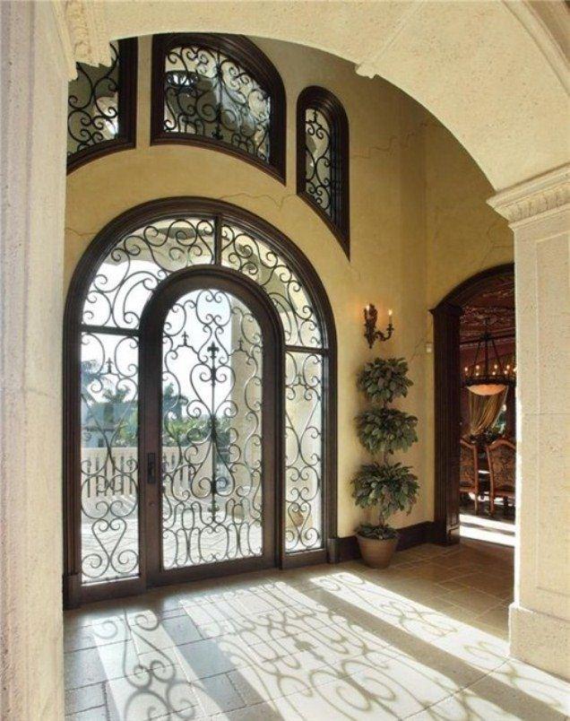 أبواب الفلل بتصاميم فخمة مبهرة المرسال