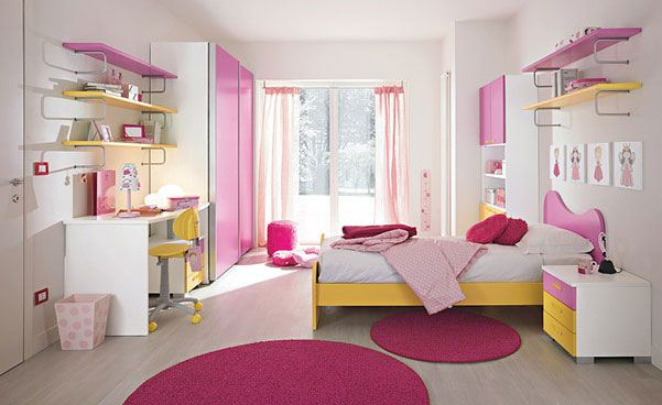 ديكورات غرف نوم بنات لعام 2017 | المرسال