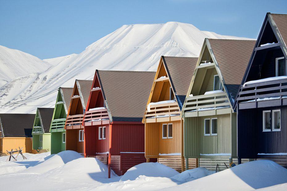 Longyearbyen, Svallbard, Norway