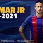 تفاصيل عقد نيمار مع برشلونة حتى عام 2021