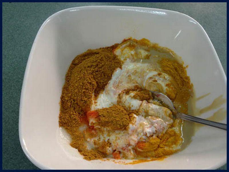 Prepare marinade مفطح المندي من الأكلات السعودية التراثية