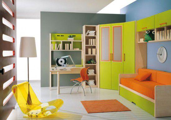 غرفة نوم الأطفال بالوان عصرية