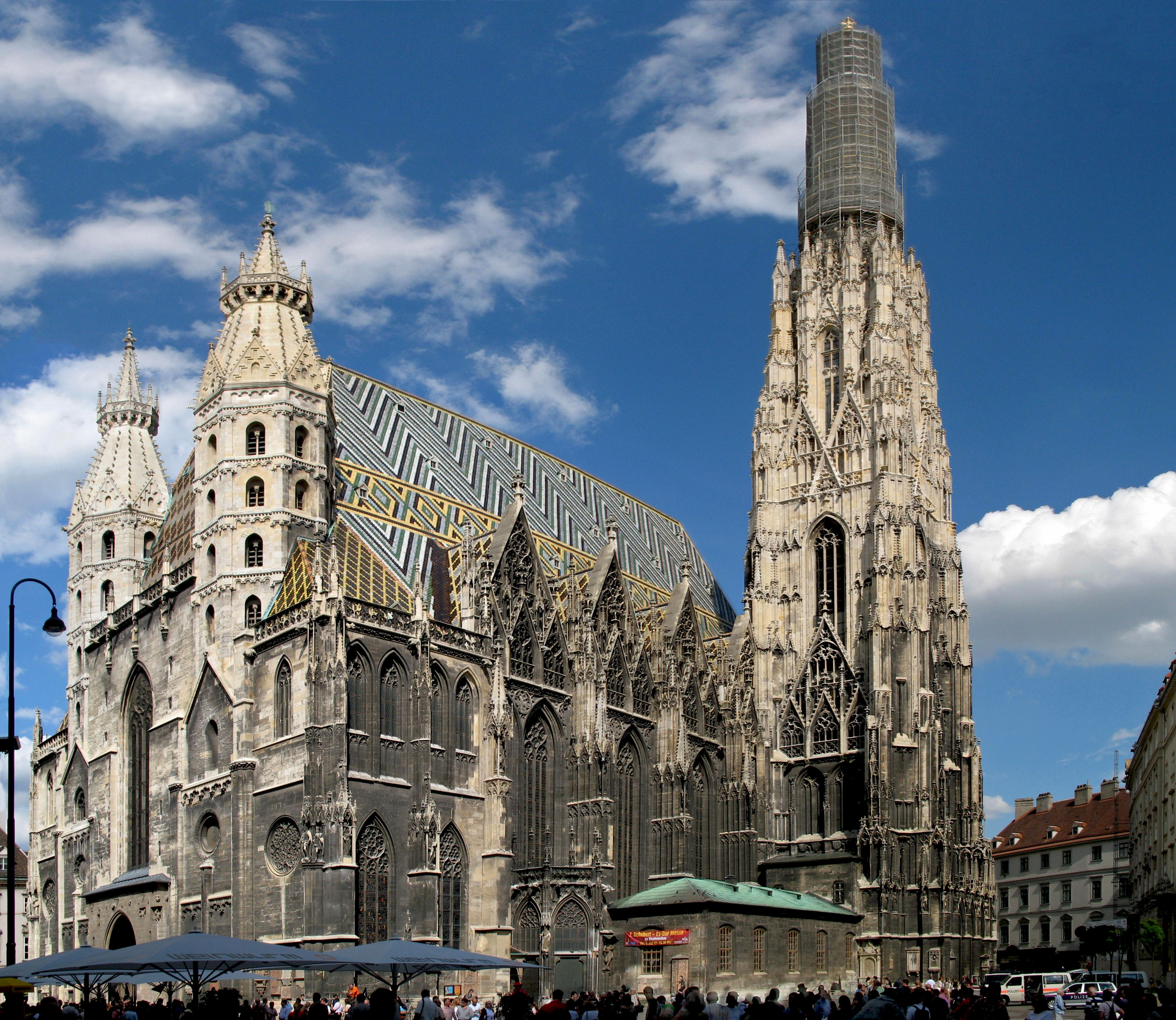 كاتدرائية سانت ستيفان في مدينة فيينا أشهر المناطق السياحية الموجودة