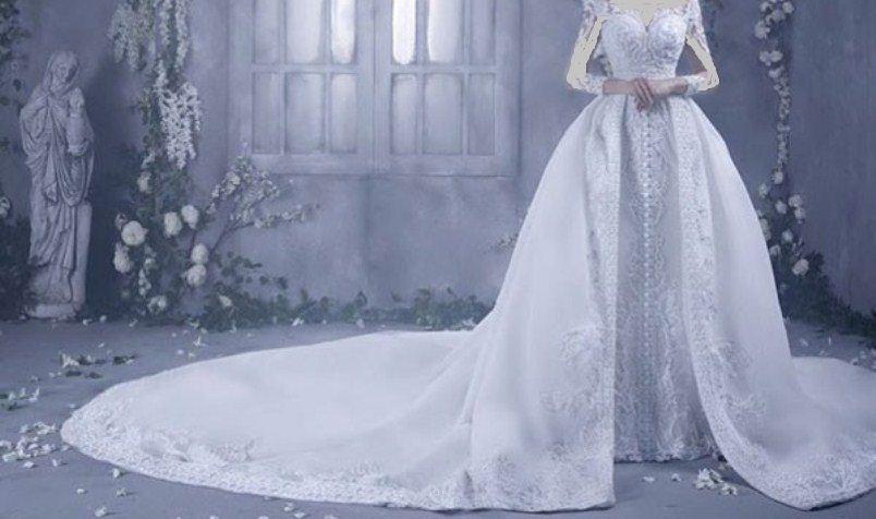 فستان طبقتين