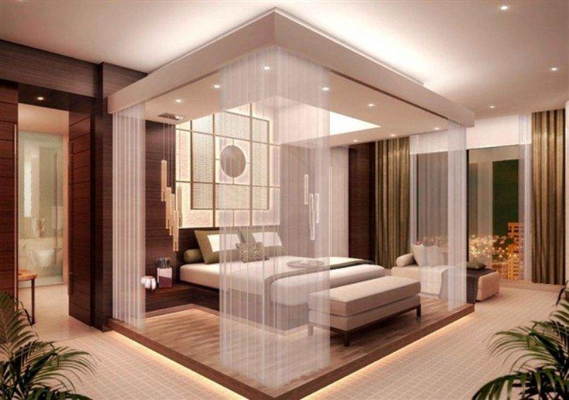 غرف نوم بتصاميم فندقية أنيقة | المرسال