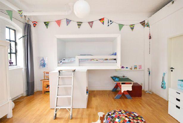 White kid's bedroom furniture