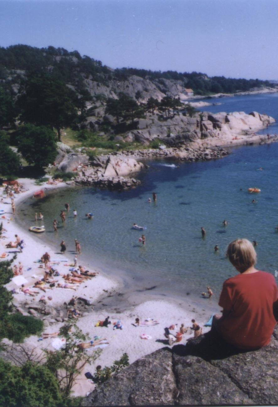 most of the nice beaches in Southern Norway