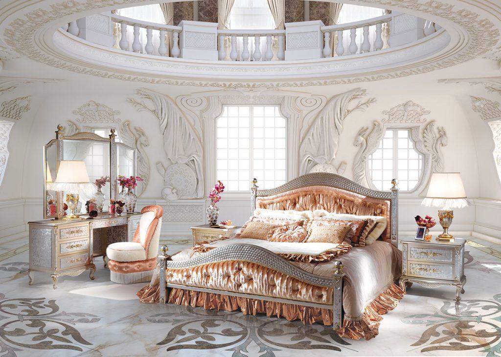 2017 - Camere da letto stile barocco ...