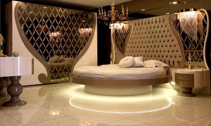 غرف نوم تركي عصرية