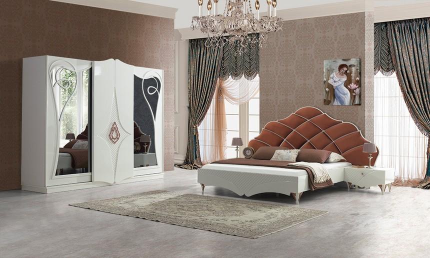 غرف نوم مدرن تركي