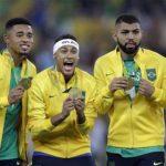 تاريخ البرازيل يغرد بالميدالية الأولمبية الذهبية الأولى بتاريخ كرة القدم