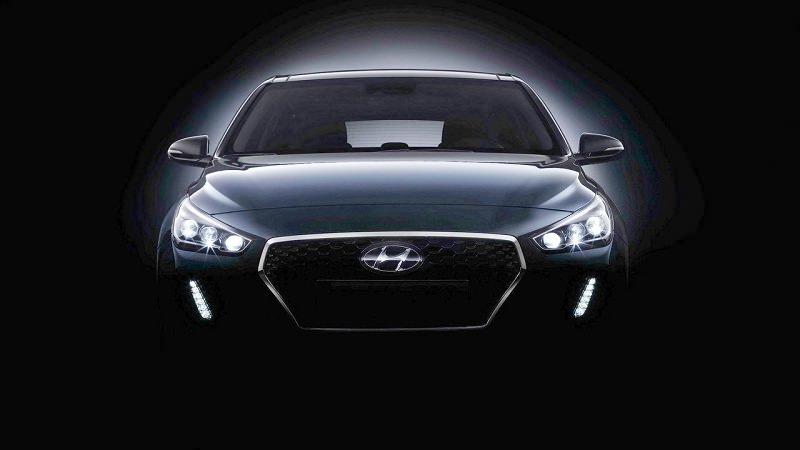 التصميم الخارجي للسيارة هيونداي i30 2017