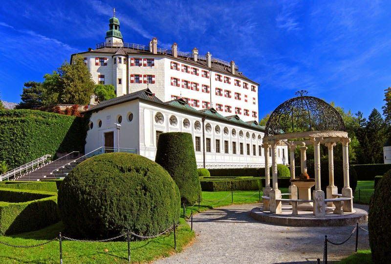 نتيجة بحث الصور عن قصر أمبراس انسبروك