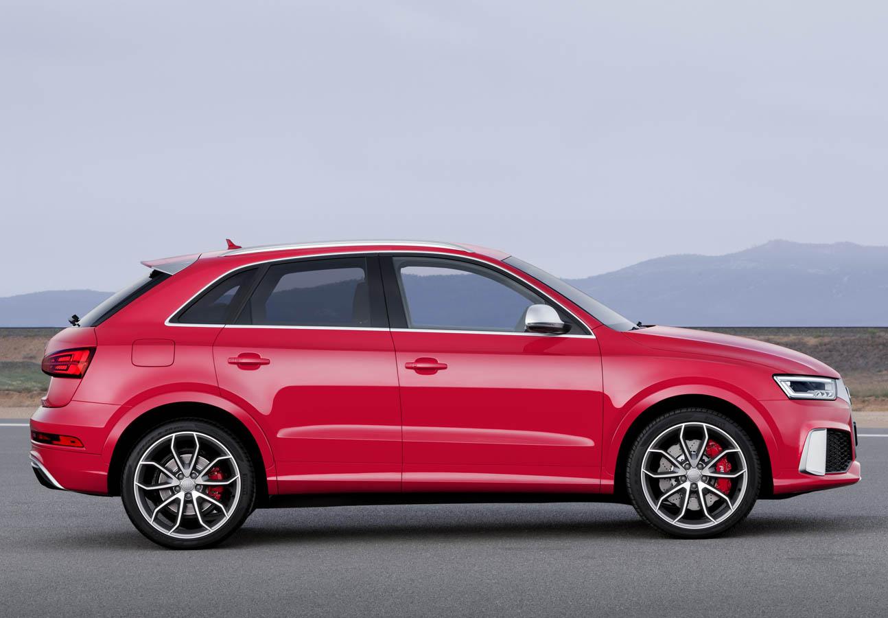 التصميم الخارجي للسيارة اودي RS3 موديل 2016