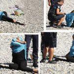 الشرطة الفرنسية تجبر امرأة مسلمة على خلع ملابسها