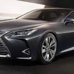 الصور الأولى لسيارة لكزس LS موديل 2018 الفارهة Lexus