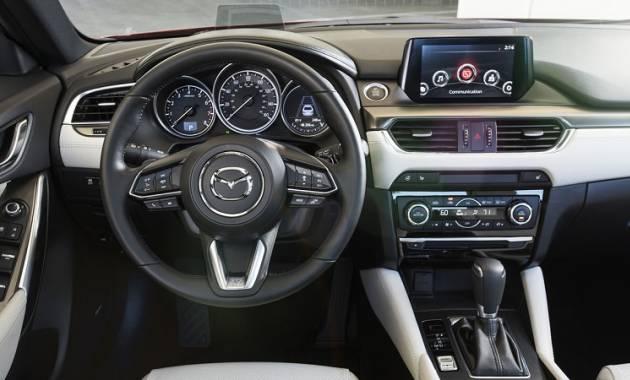 قوة المحرك والاداء للسيارة مازدا 6 موديل 2017