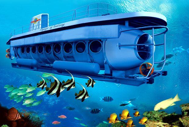 الغواصة في جزيرة بالي