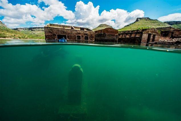 المدن التاريخية تحت المياه في محافظة اورفا