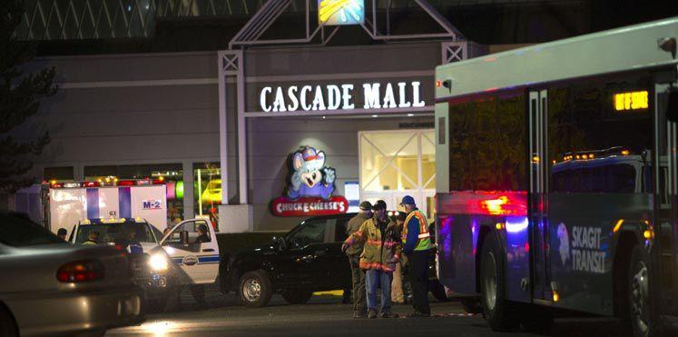 الهجوم على مركز تجاري في واشنطن