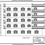 مخططات عمارة سكنية بمساحة 400 متر مربع ( شقتين )