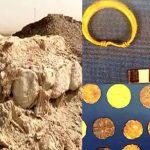 اكتشاف آثري جديد لكنز من الذهب والفضة في قرية ثاج بالجبيل