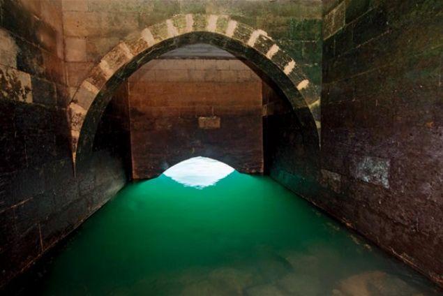 جانب من مغارة تحت المياه في تركيا