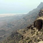محمية جبل سمحان في سلطنة عمان