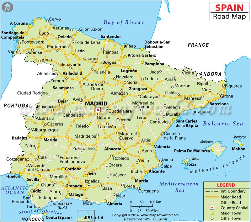 اخبار الامارات العاجلة -اسبانيا كم يبلغ عدد سكان اسبانيا ؟ أخبار متنوعة  مواضيع متنوعة منوعات صور اسبانيا