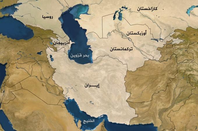 خريطة-تركمانستان