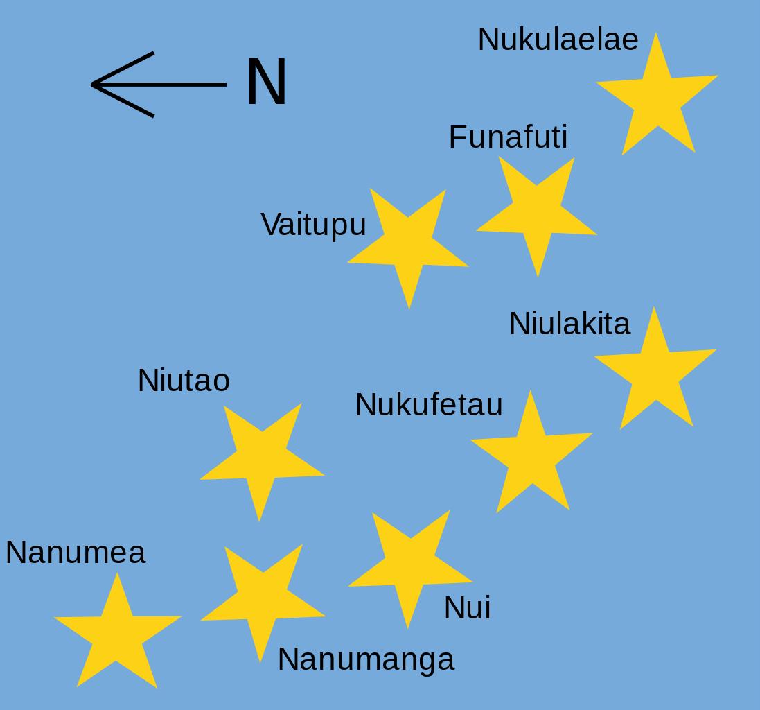 خريطة توفالو