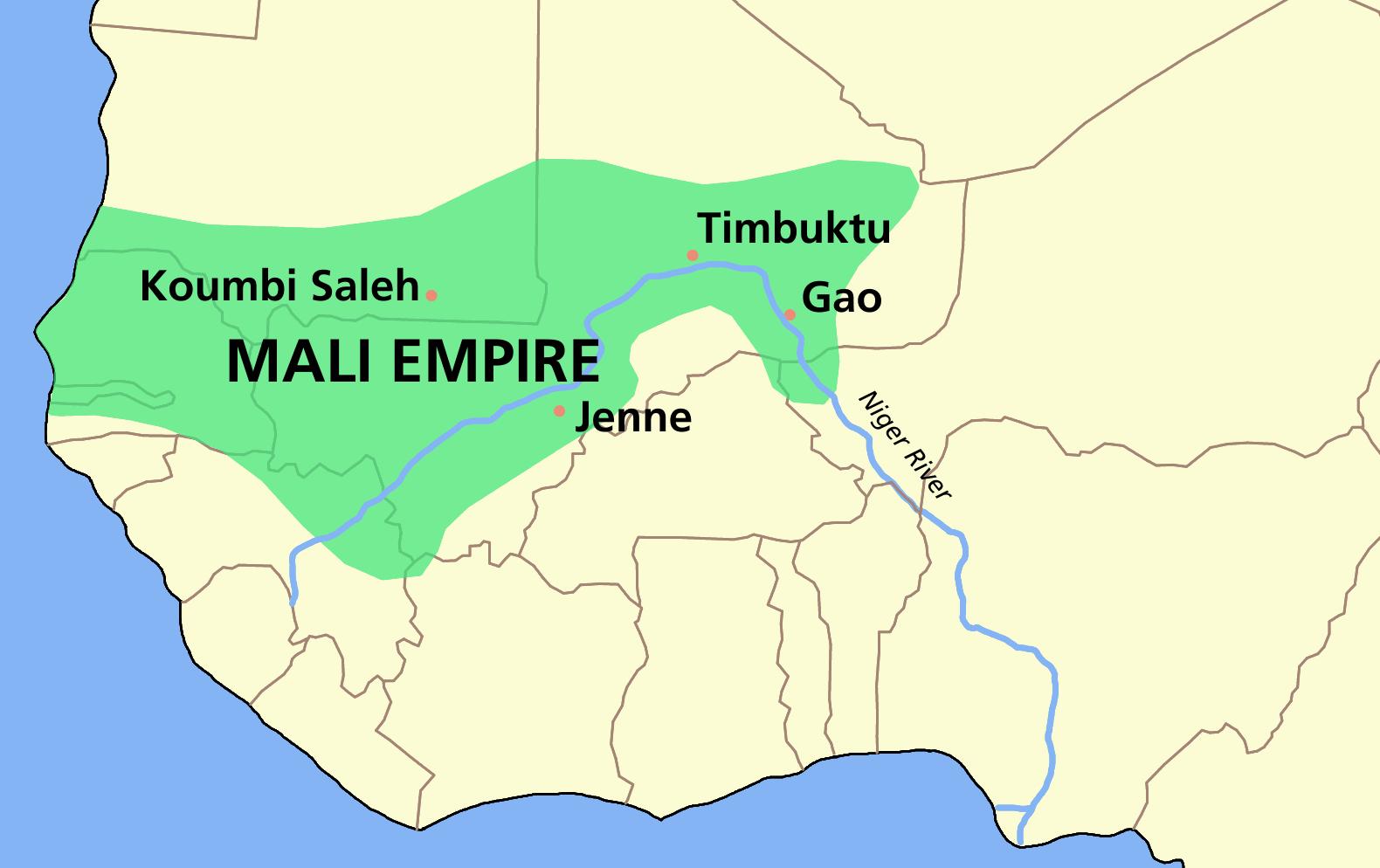 خريطة مالي