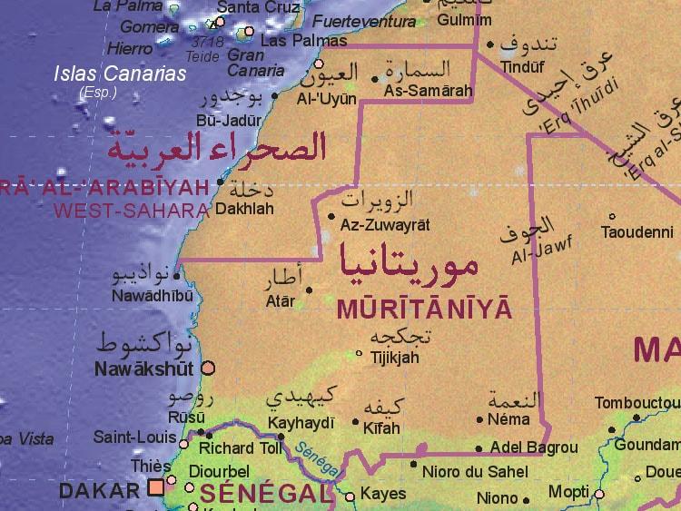 كم عدد سكان موريتانيا ؟