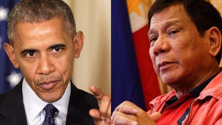 رئيس الفلبين يسب أوباما ويعتذر له
