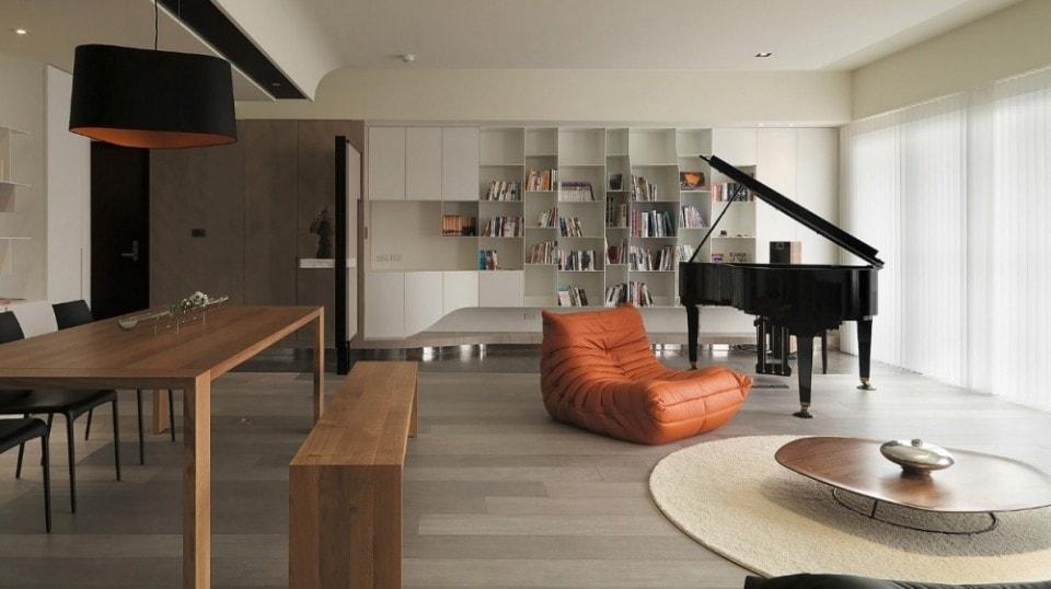غرفة بيانو
