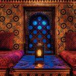 غرف جلوس على الطراز المغربي